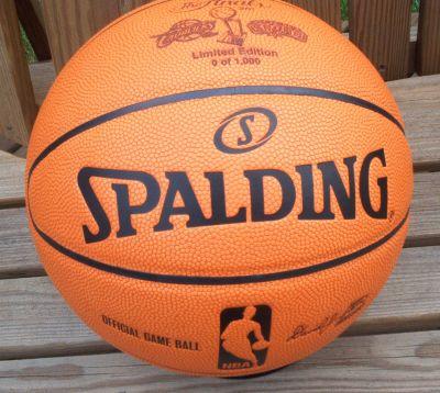Bigtimebats Com 2007 Nba Finals Comemorative Basketball Limited Edition