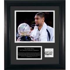 2007 San Antonio Spurs Commemorative Plaque - Limited Edition