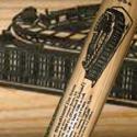New Yankee Stadium First Game Commemorative Louisville Slugger Autographed by Derek Jeter
