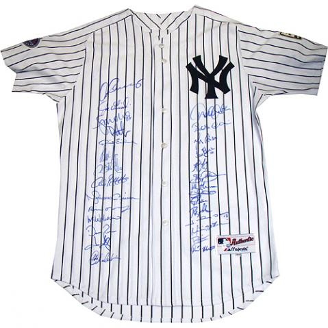 the best attitude 1c4ce dfb16 BigTimeBats.com - 2009 Yankees Team Signed Mariano Rivera Jersey