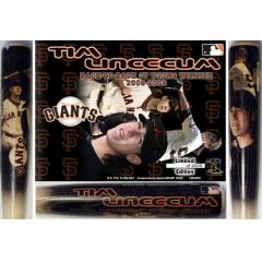 2009 Tim Lincecum Back to Back NL Cy Young Winner Collectible Bat