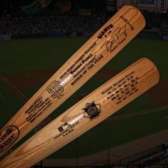 Buster Posey 2010 NL Rookie of the Year Authentic Louisville Slugger