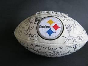 fea359609 BigTimeBats.com - Authentic Pittsburgh Steelers Team Signed Football