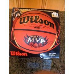 Derrick Rose 2011 MVP Wilson Baseketball