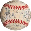 1993 Colorado Rockies Inaugural Season Team Signed Baseball
