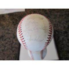 signature of Hall of Fame pitcher Steve Carlton visible