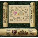 St. Louis Cardinals 2011 World Series Signature Art Bat
