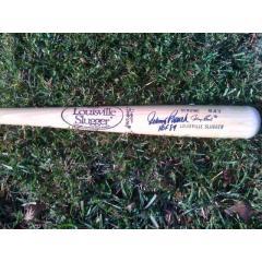 Johnny Bench Signed & Inscribed Louisville Slugger