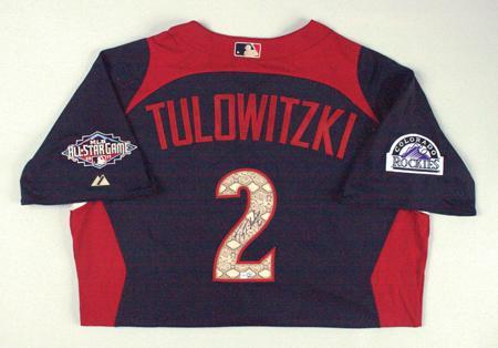 super popular 93416 b71c8 BigTimeBats.com - Troy Tulowitzki Autographed 2011 All Star ...