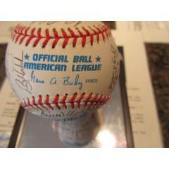1998 Tampa Rays Team Signed Baseball