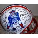 Patriots Authentic Team Signed Throwback Helmet