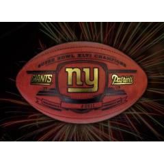 Official NY Giants Super Bowl XLVI Champions Football