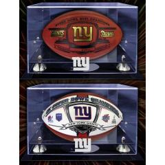 NY Giants Super Bowl XLVI Champs Deluxe Two Ball Set