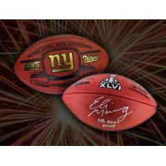 NY Giants Player Signed Memorabilia