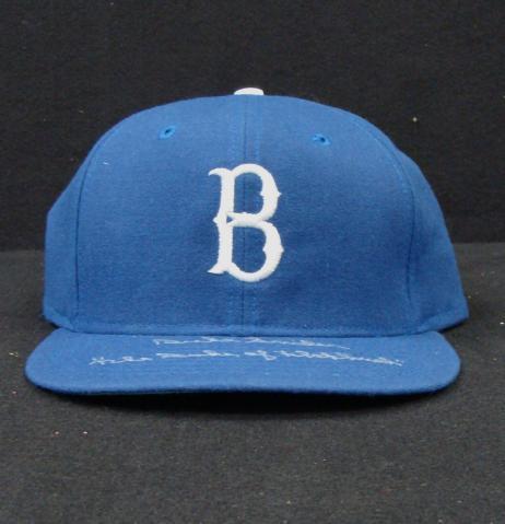 BigTimeBats com - Duke Snider Signed & Inscribed Brooklyn