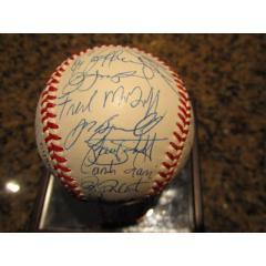1994 NL All Star Team Signed Baseball