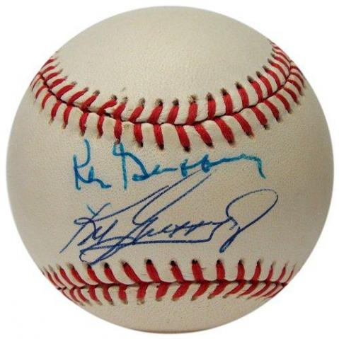 5884be0914 BigTimeBats.com - Baseball Signed by Ken Griffey Jr. & Griffey Sr.
