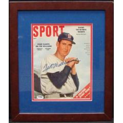 """Ted Williams Autographed """"Sport"""" Magazine - July 1956"""