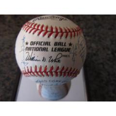 Mets Star Players Signed Baseball