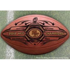 San Francisco 49ers NFC Champs Commemorative Game Ball