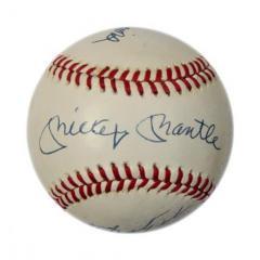Triple Crown Winners Autographed Baseball