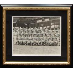 1955 Tigers Team Signed Photograph