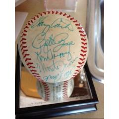 1980 All Stars Signed Baseball