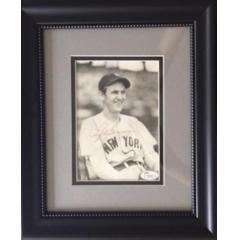 Vintage Lefty Gomez Signed 8 x 10 Photo