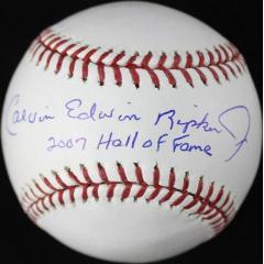 Ripken Full Name Signed & Inscribed Ball - Very Rare