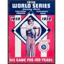 1939 World Series Program - 100th Anniversary of Baseball