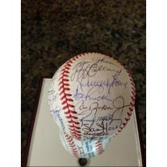1991 Orioles Team Signed Baseball