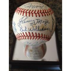Baseball from Warren Spahn's Collection - 26 Signatures