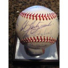 1966 Red Sox Team Signed Baseball