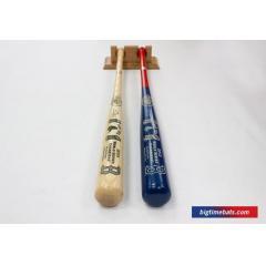 2013 Red Sox World Series Champs 2 Bat Set & FREE Display