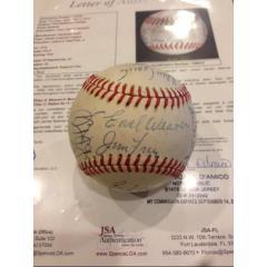 1978 Orioles Team Signed Baseball