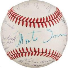 Rare Negro League Stars Signed Baseball