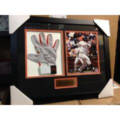 Pablo Sandoval Game Used Batting Glove Presentation