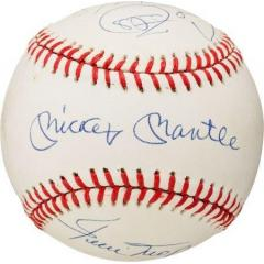 Home Run Hitters Multi-Signed Baseball