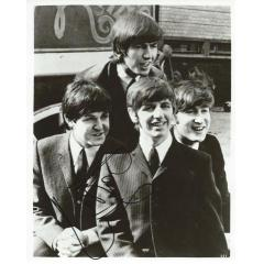 Paul McCartney Signed Beatles Photograph