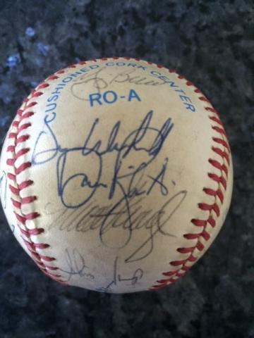 Autographs-original Sports Mem, Cards & Fan Shop Ron Guidry Autographed Baseball Terrific Value