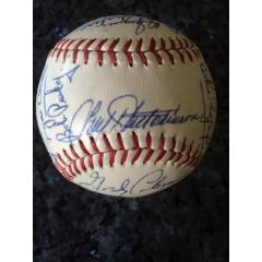1962 Cincinnati Reds Team Signed Baseball