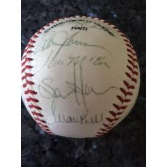 1991 Baltimore Orioles Team Signed Ball