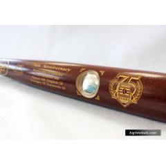 Hall of Fame 75th Anniversary Coin Bat