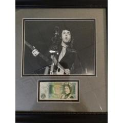 Paul McCartney Signed Photo Presentation - Authenticated