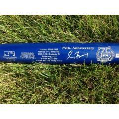 Greg Maddux Signed Hall of Fame Commemorative Bat - Cubs Edition