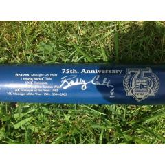 Bobby Cox Signed Hall of Fame Commemorative Bat