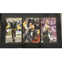 """Signed & Inscribed """"Favre Farewell"""" Photo Presentation"""