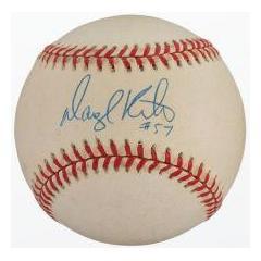 Darryl Kile Signle Signed Baseball