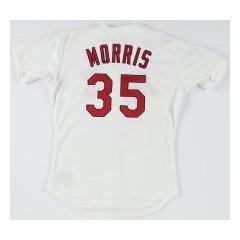 Matt Morris Game Worn & Signed '97 Cardinals Jersey