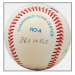Joe DiMaggio Autographed Stat Ball